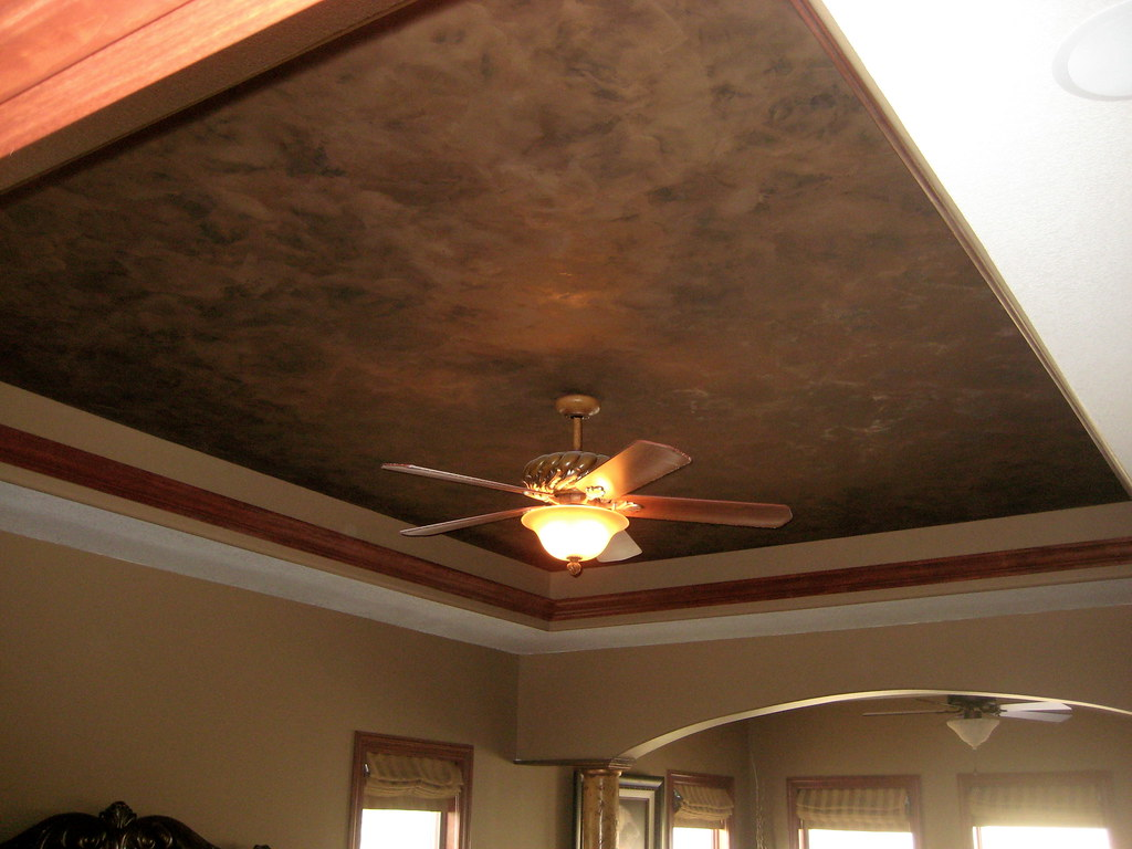 Tray Ceiling Master Bedroom Italian Finishes Bella F