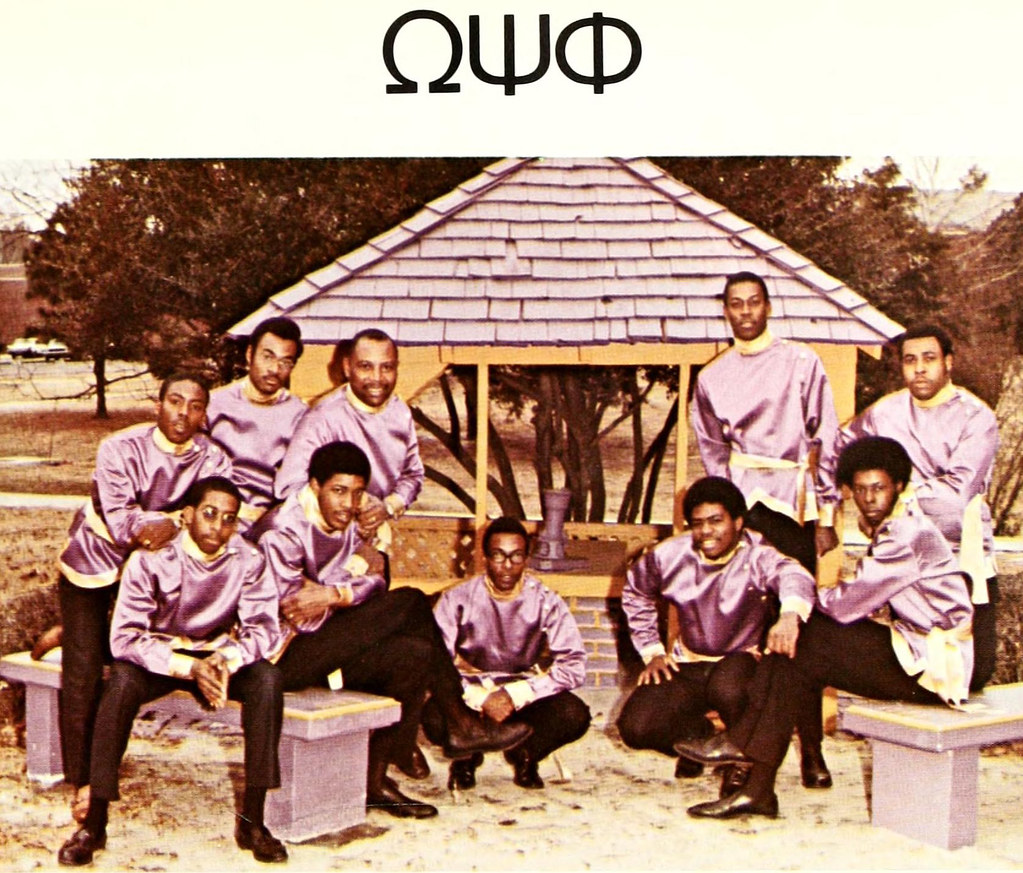 Fayetteville State University S Center For Defense And: Omega Psi Phi Fraternity, Fayetteville State University, 1