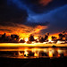 mammatus cloud sunset