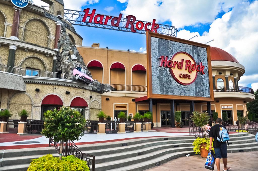 Hard Rock Cafe At Universal Studios Orlando