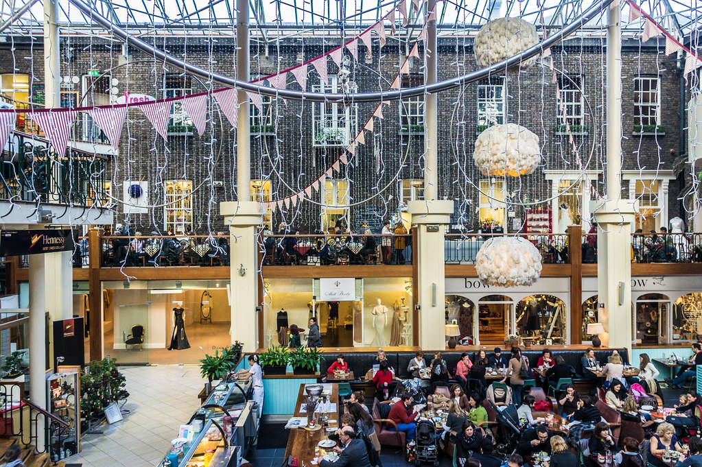 Powerscourt Centre Is An Attractive Shopping Centre Set In