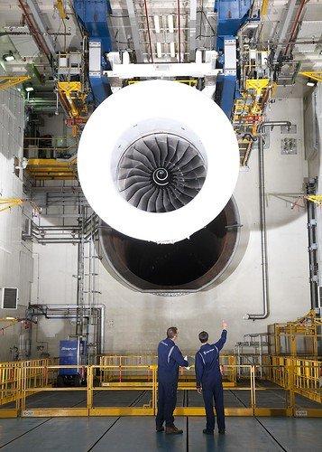 Trent XWB test | by Rolls-Royce plc