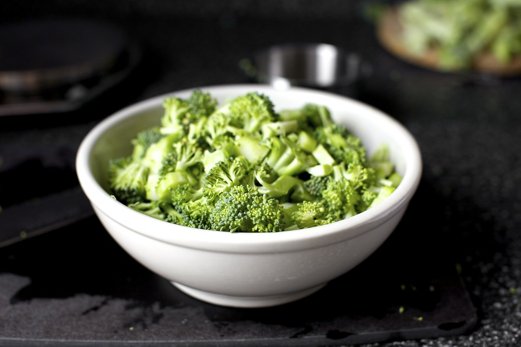 choppped roughly | Broccoli Parmesan Fritters on smittenkitc… | deb ...