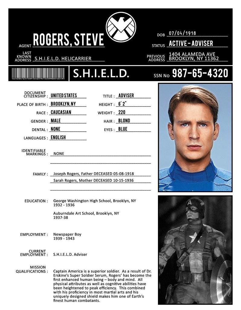 Bio Sheet Bio Sheet Rogers | by