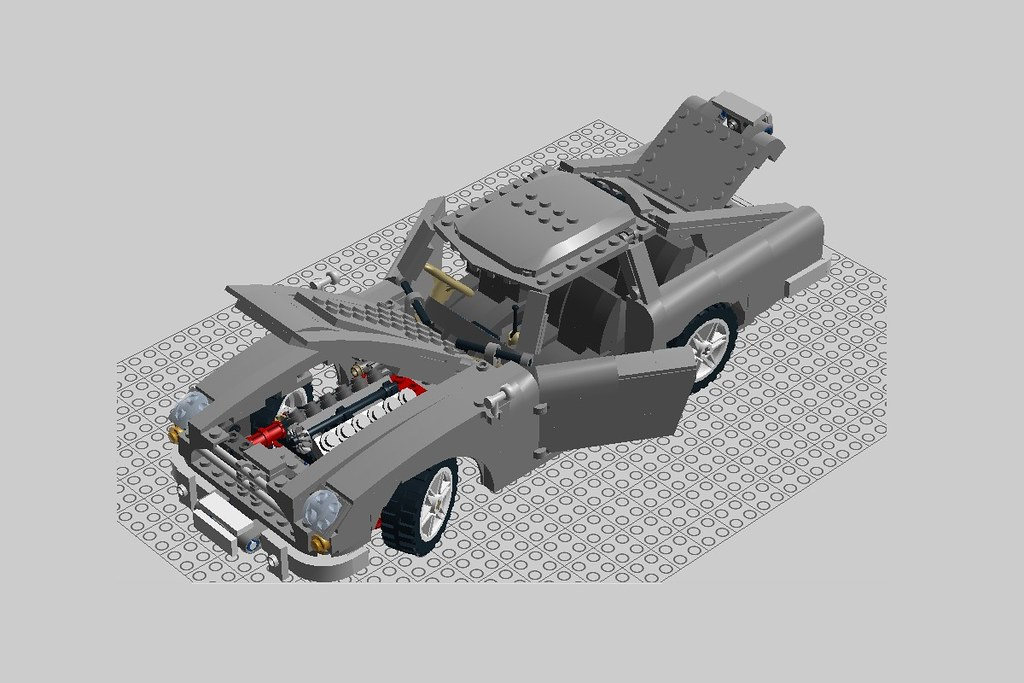 lego aston martin instructions