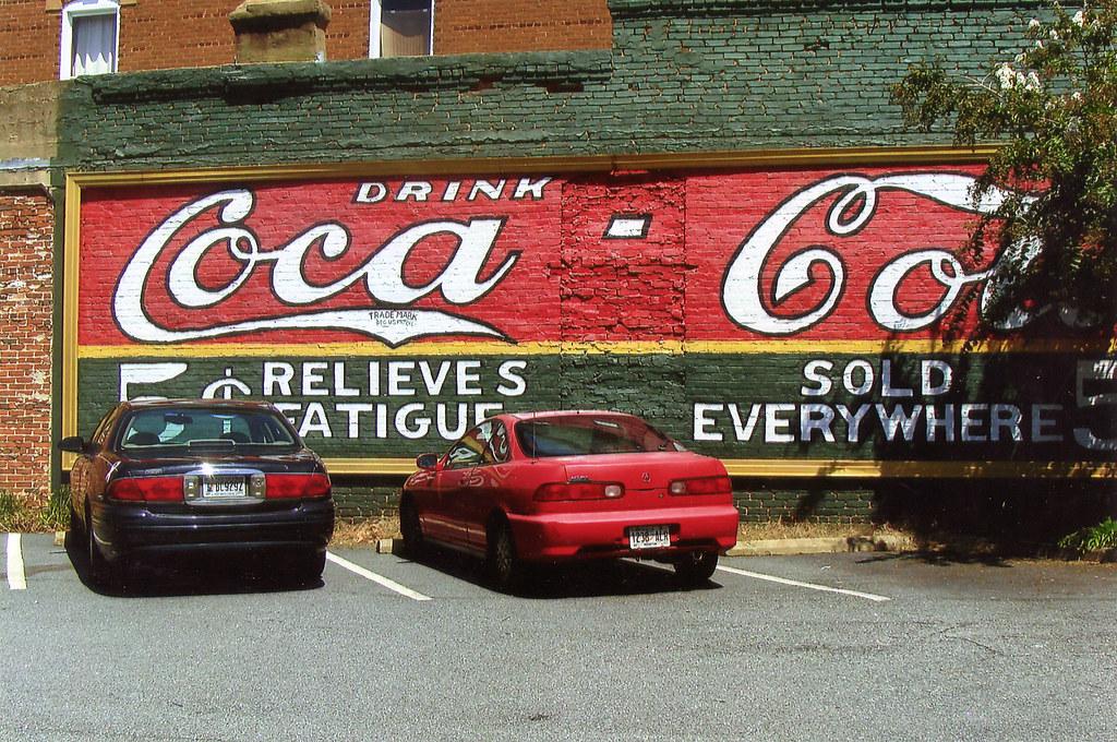 Coca cola wall mural lamar flickr for Coca cola wall mural