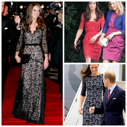 Kate Middleton Fashion Show College