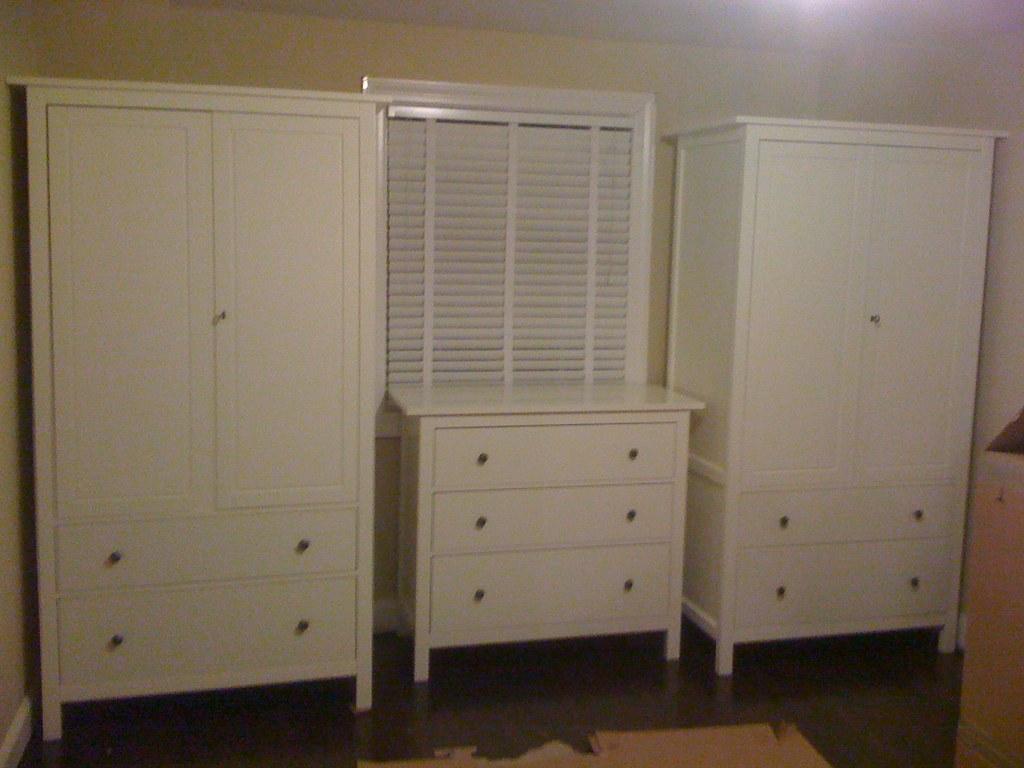 Ikea hemnes line 2 wardrobes adn dresser we installed for Camera hemnes ikea