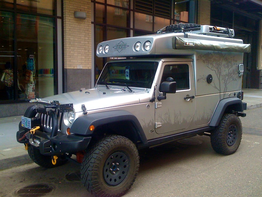 Jeep Camper Sam Beebe Flickr