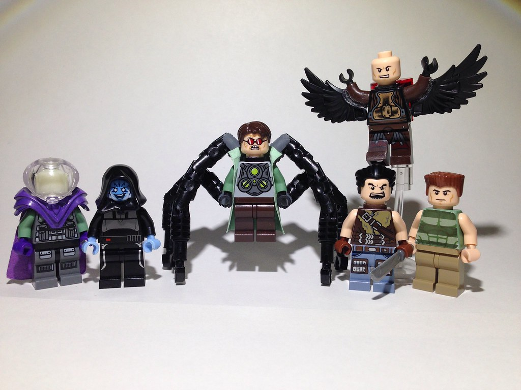 Marvel Superheroes Sinister Six Please Comment If You Fav