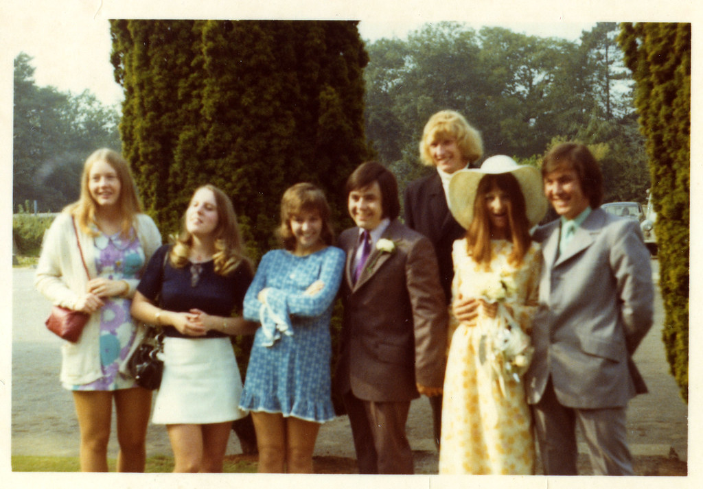 Late 60s Early 70s Love The Fashion Short Skirt Pre Flickr
