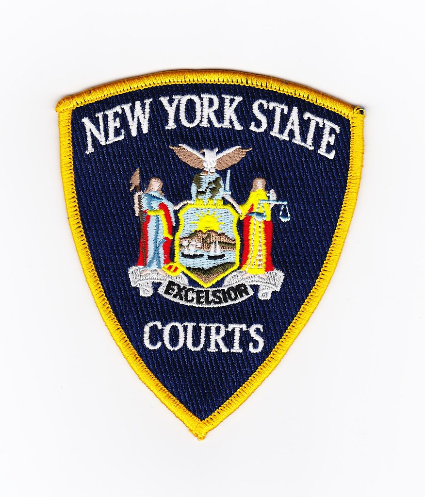 NY - New York State Court Officer | Patch for Waubonsee ...