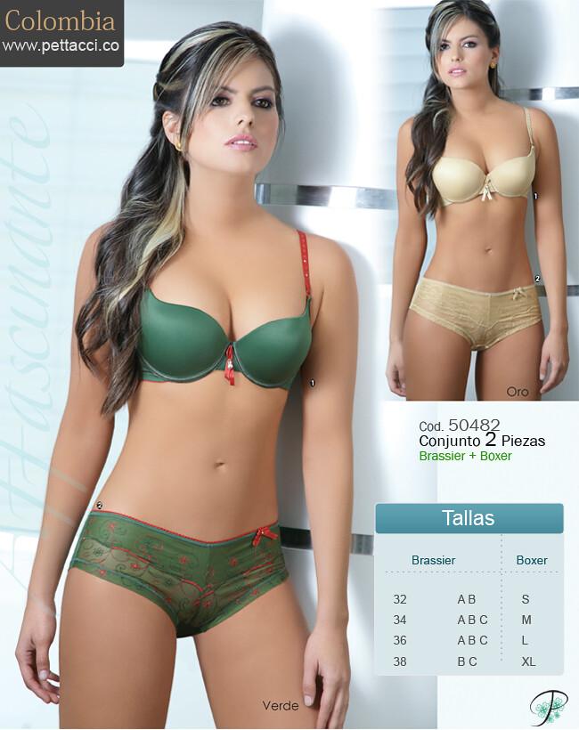 5048 pettacci ropa interior femenina colecci n colombia - Ropa interior femenina sexis ...