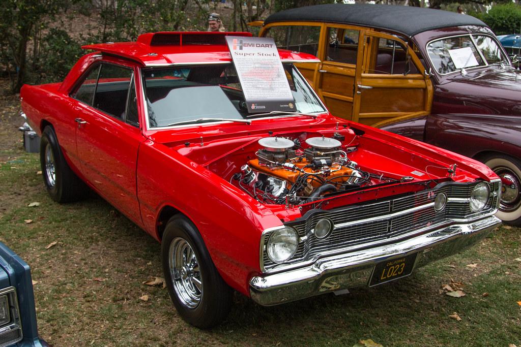 "Huntington Beach Dodge >> 1968 Dodge ""Hurst"" Hemi Dart | Huntington Beach Concours d'E… | Flickr"