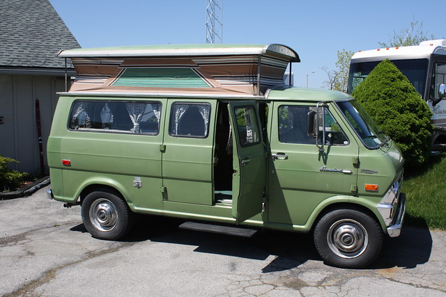 1970 Ford Econoline E 300 Camper Van Flickr Photo Sharing