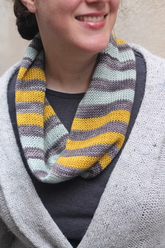 Camptown Races Cowl - Striped Version | by starathena