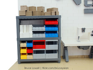 Ladyada's Workshop in LEGO | by bruceywan