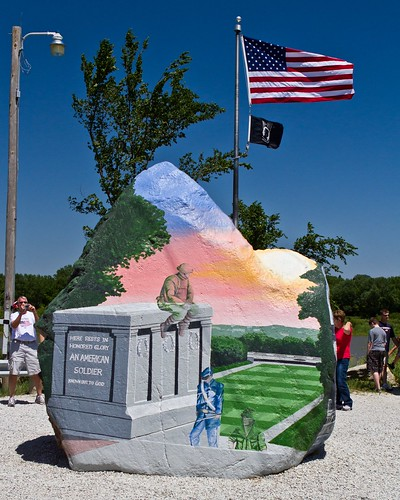 Memorial Day 2012 - The Freedom Rock | by Don3rdSE