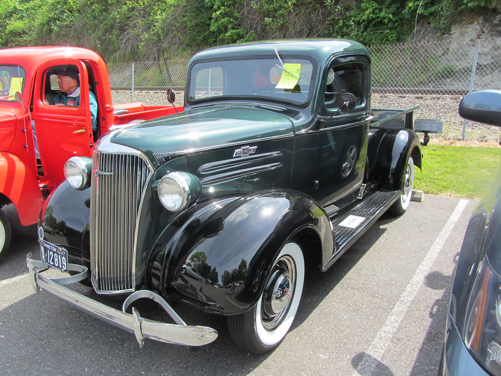 1937 Chevy Truck | Seen at the spring car show on the ...