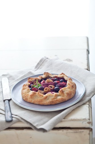 Mixed Berries Galette | by tartelette