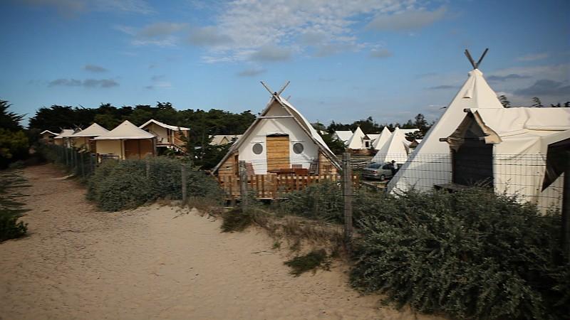 Magnifique camping du domaine des moulins domaine les mo flickr - Camping les moulins noirmoutier ...
