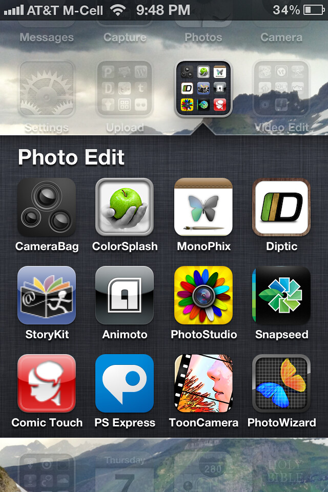 My iPhone Photo Editing Apps | Wesley Fryer | Flickr
