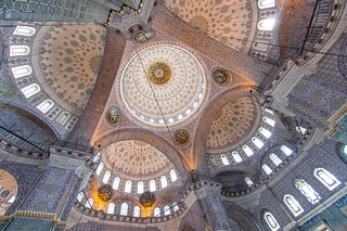 Ceiling of New Mosque Domes | by damonlynch