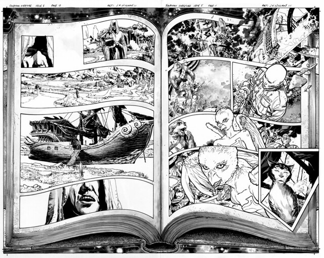 Sandman 5 pg 10 and 11