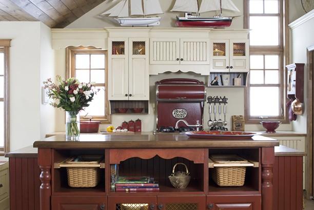 Cuisine champ tre armoires de cuisine de style champ tre for 3d cuisine bessines 79