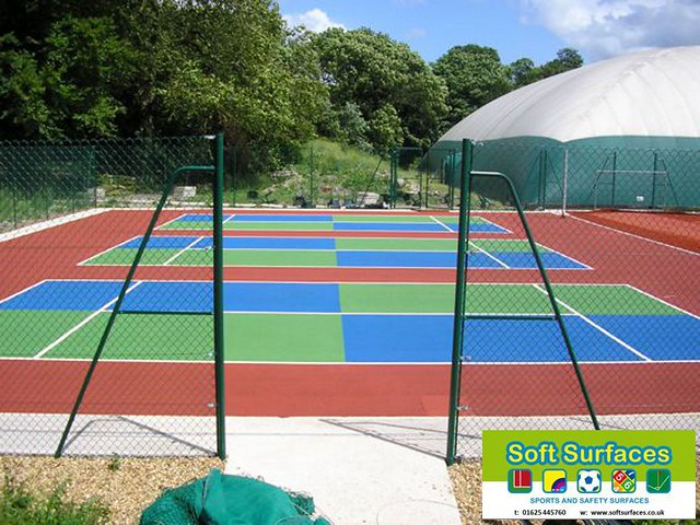 Muga tennis court sports surface flickr Sport court pricing