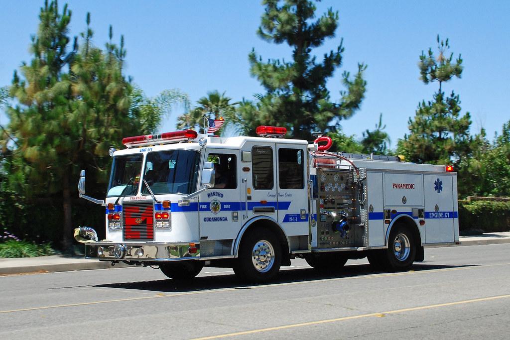 New California Fire >> Rancho Cucamonga Fire Dept.   KME pumper in Rancho Cucamonga…   Flickr