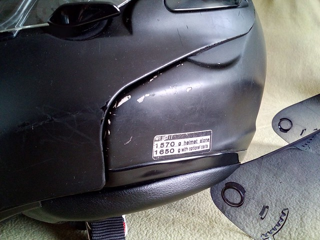 Vendo Casco Shoei Multitec 27373975830_615d6cfef7_z
