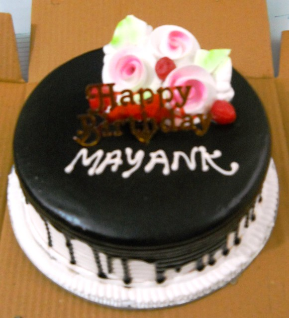Name Of Mayank Cake Images : Mayank Birthday cake . By: gravityinformatics Flickr ...