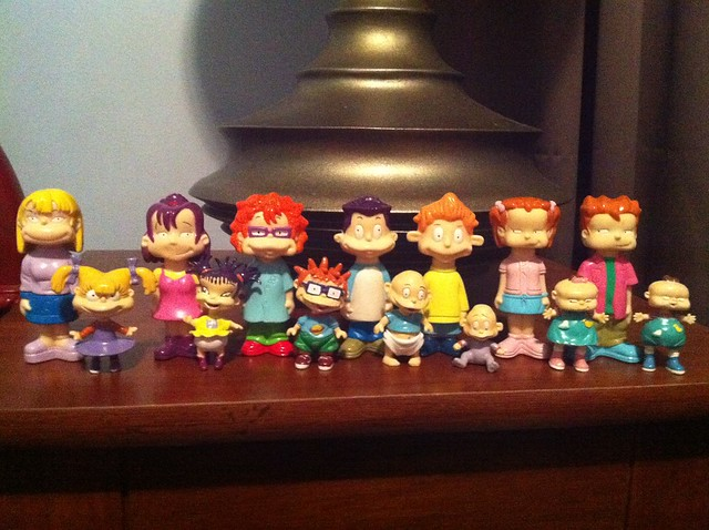 All Grown Up Toys : Rugrats all grown up figures flickr photo sharing