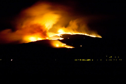 Criffel Grass Fire - 27th March 2012 | by Brick_Man_Photos