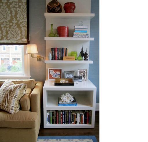 Custom End Table Bookshelf