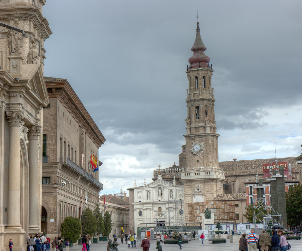 Catedral del Salvador (La Seo) - Zaragoza.  1 Fachada ...