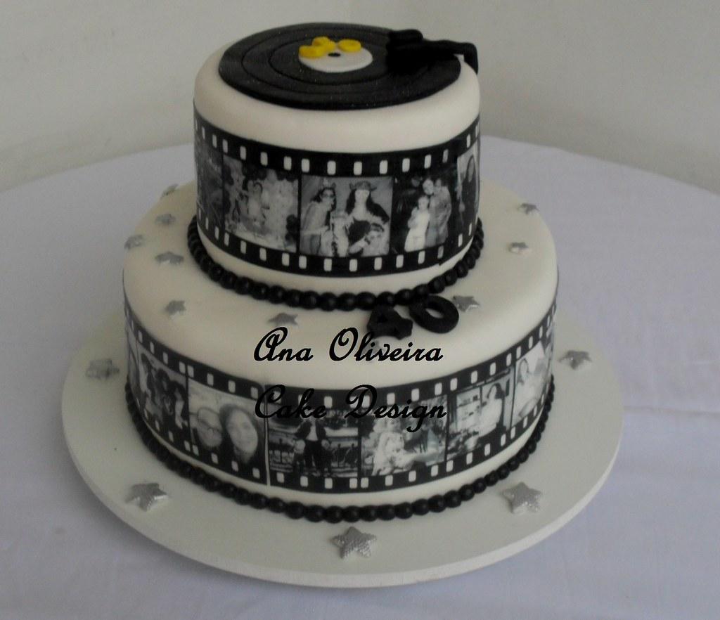 Cake Design Para Homem : Bolo filme 40 anos Ana Oliveira Cake Design Flickr