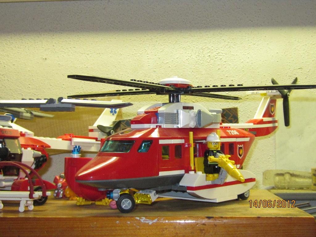 Elicottero Lego City : Lego city elicottero pompieri eleonora de luigi flickr