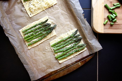 asparagus tart | by joy the baker