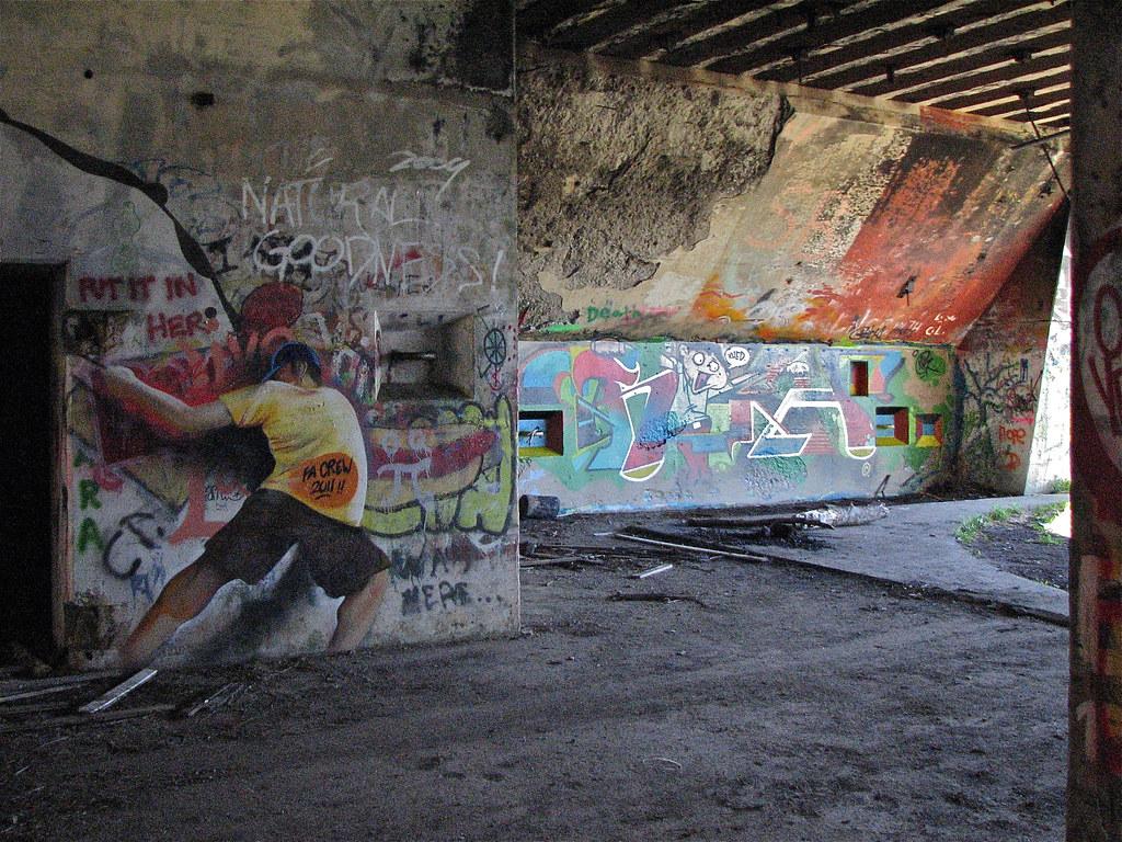 Battery Steele 1942 Graffiti Fa Crew 2011 Florida