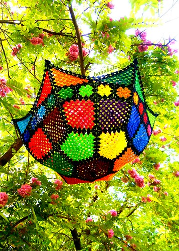 Crochet Umbrella - Granny Mosaic SUNbrella | by babukatorium