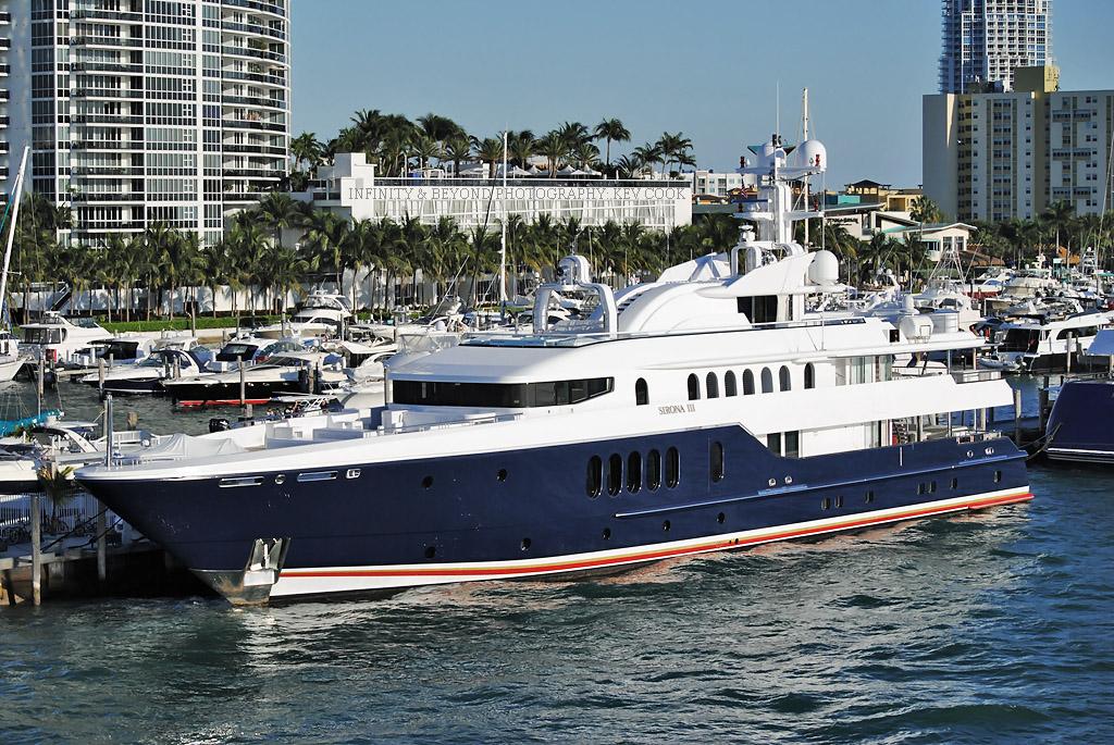 Sirona Iii Luxury Yacht Docked At Miami Beach Marina Flickr