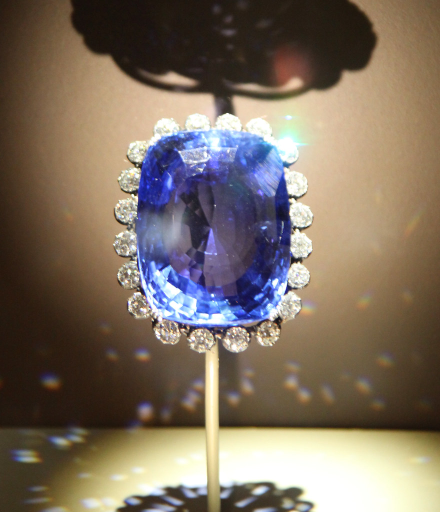Logan Sapphire Smithsonian Museum Of Natural History 2