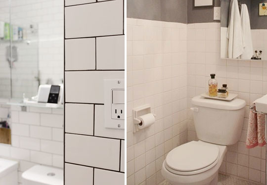 At light vs dark grout nicole welch flickr - Transgender bathroom pros and cons ...