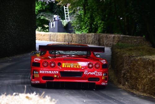 Mike Smith, Ferrari 575 GTC, Goodwood Festival of Speed 2016