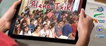 Cartel anunciador del pleno-txiki