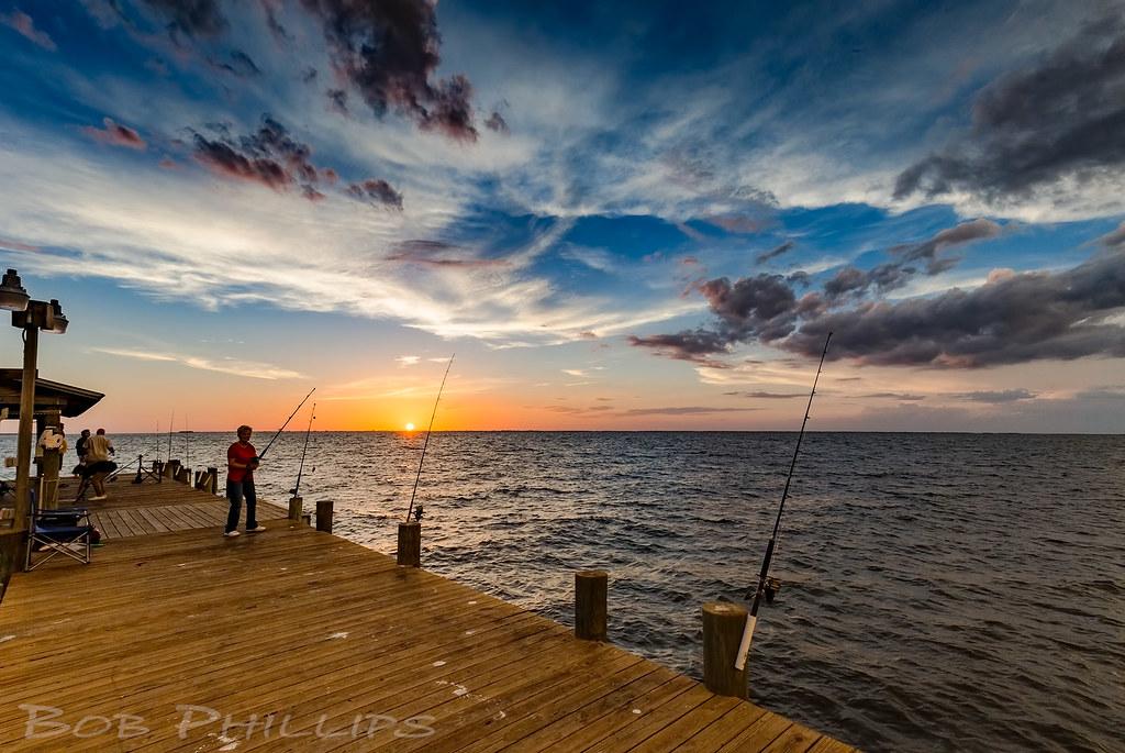 Bokeelia fishing pier at sunset thursday is fishing for Bokeelia fishing pier