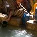 Collecting water, Kotoba, Ethiopia