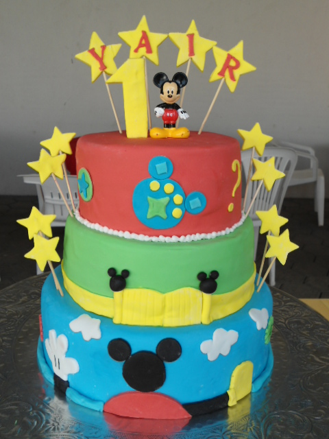 Pasteles de la casa de Mickey Mouse - Imagui